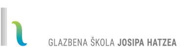 Glazbena škola Josipa Hatzea Logo škole