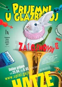 Upisi u glazbenu školu josipa hatzea 2016.