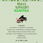 Mali koncert klavira – DO Trogir